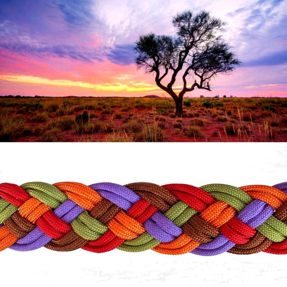 Pilbara Sunrise Paracord Collar - Limited December Edition (5211718189196)