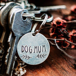 Dog Mum/Dog Dad Key Chain