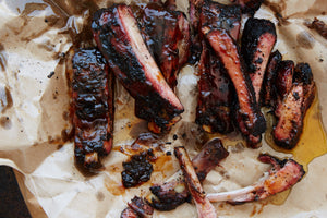 Weak Knees Bourbon Ribs
