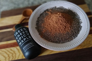Bushwick Kitchen Spicy Maple Chocolate Chia Pudding