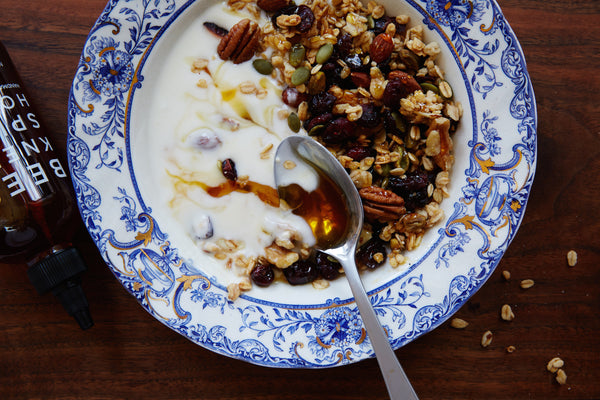Spicy Honey Granola