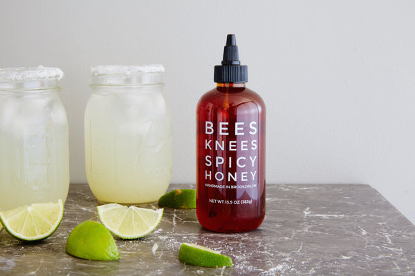 Bees Knees Spicy Honey Margaritas