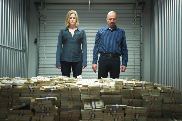 Breaking Bad Cash Pile