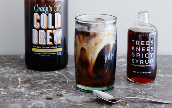 Trees Knees Spicy Syrup Iced Coffee