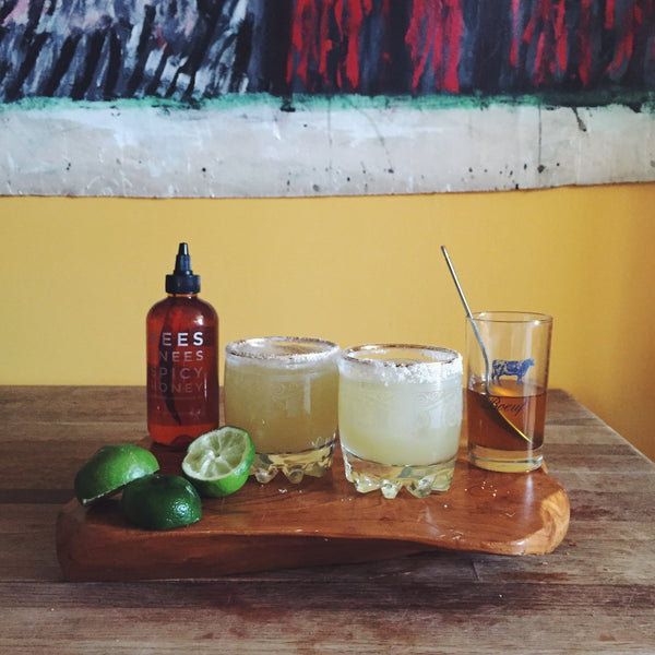 Spicy Honey Margarita