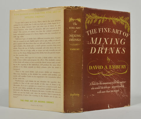 Whitmore Rare Books - The Art of Mixing Drinks