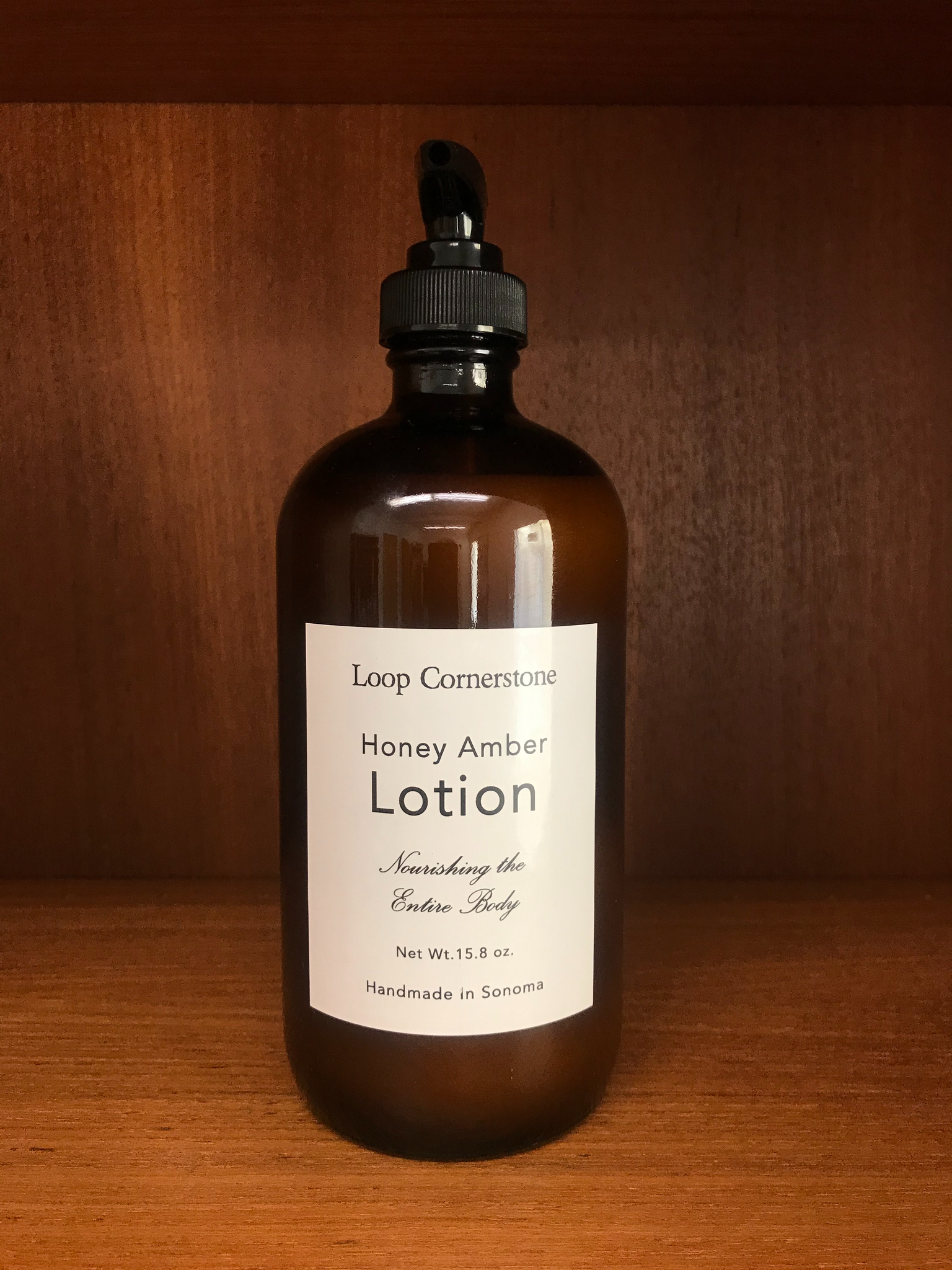 Honey Amber Nourishing Body Lotion