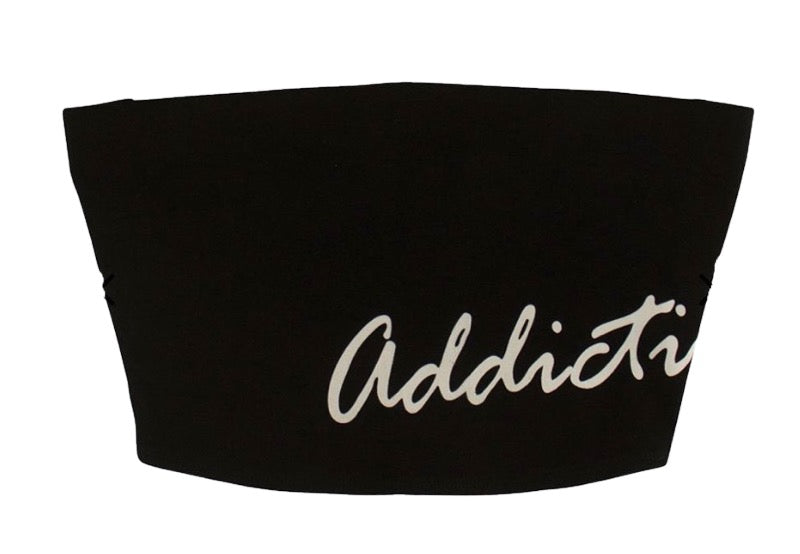 "Addictive ""Black"" Bandeau"