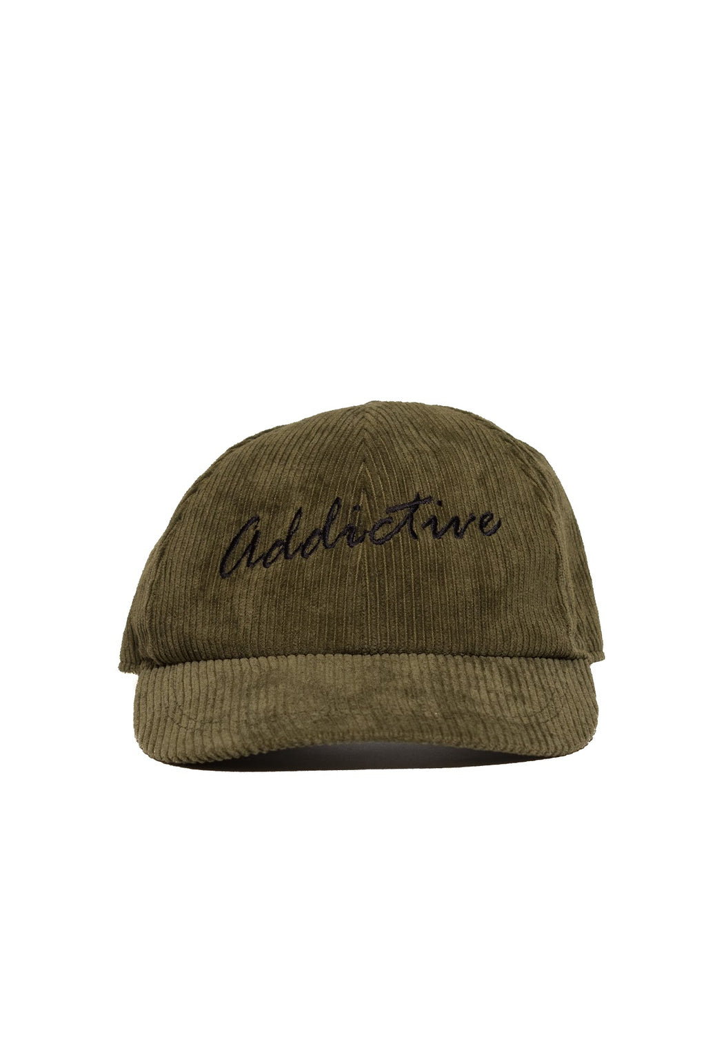 "Addictive ""Military Green"" Corduroy Cap"