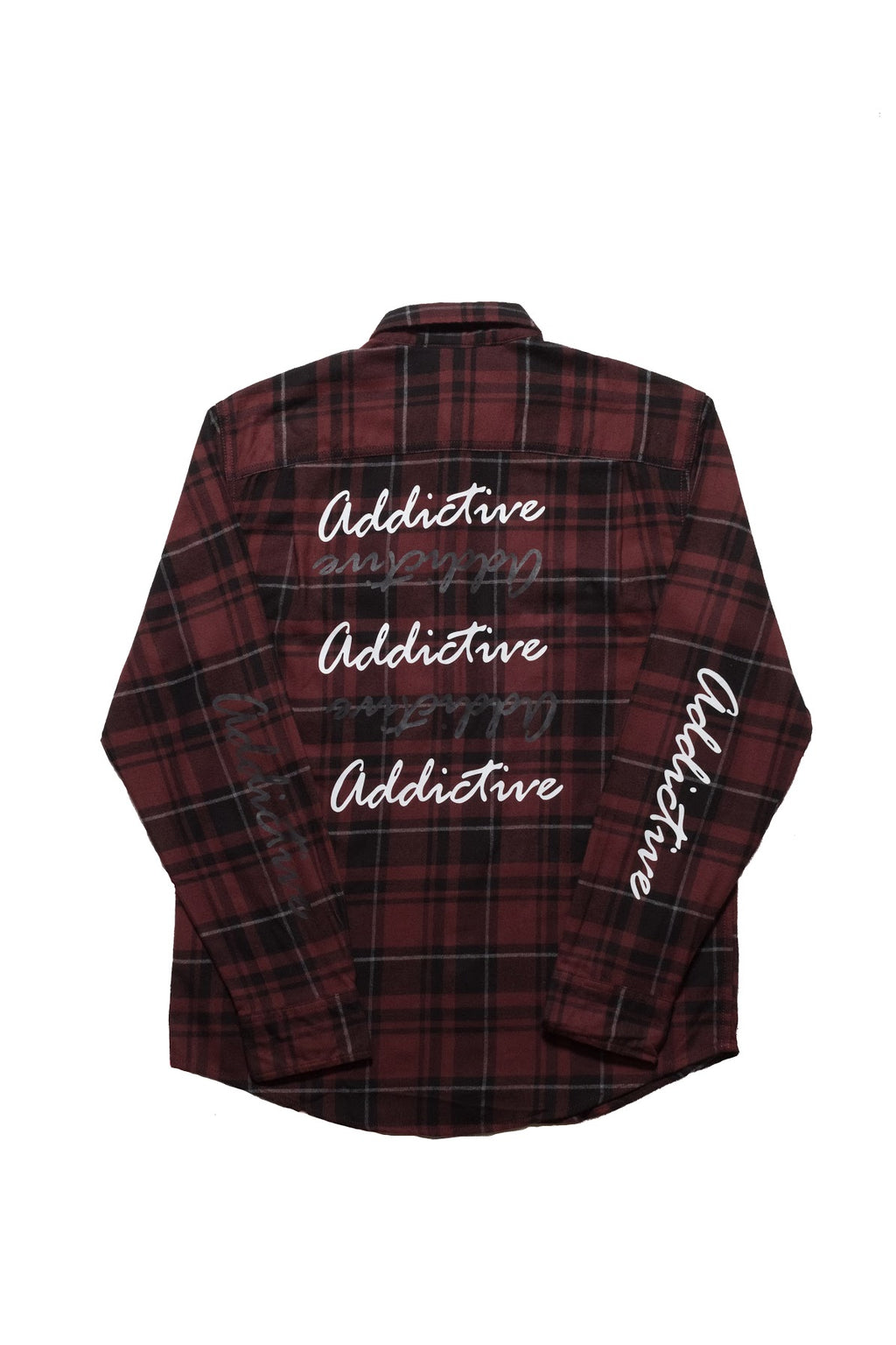 "Addictive ""Brand"" Flannel Shirt"