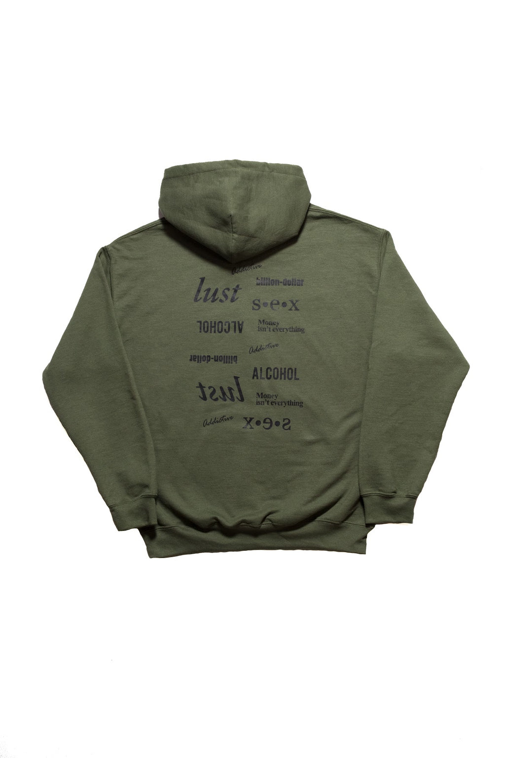 "Addictive ""Military Green"" Vices Pullover Hoodie"