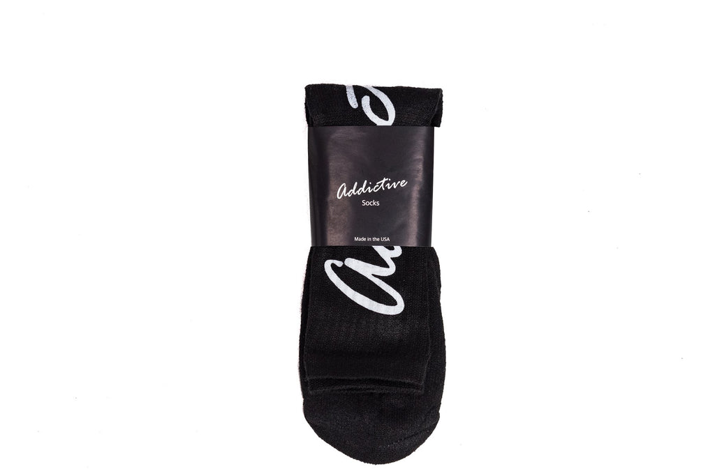"Addictive ""Black"" Socks"