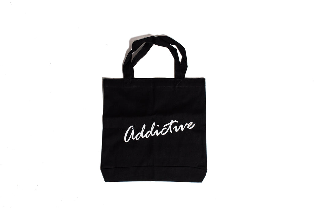 "Addictive ""Black"" Tote Bag"
