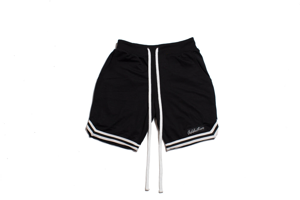 "Addictive ""Black"" Mesh Shorts"