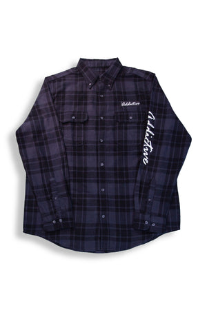 "Addictive ""Vices"" Flannel Shirt"