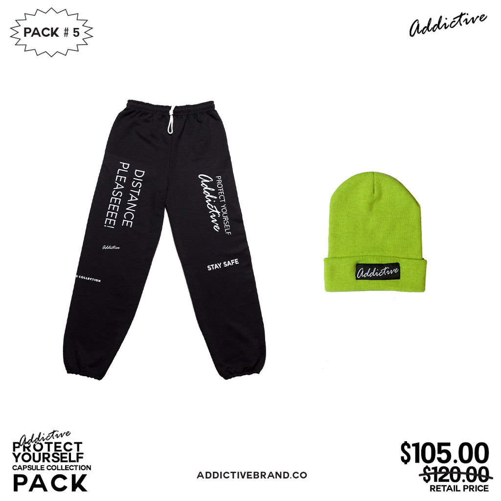 "Addictive ""Protect Yourself"" Capsule Collection Pack #5"