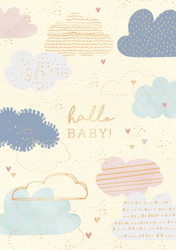 Karte zur Babyparty