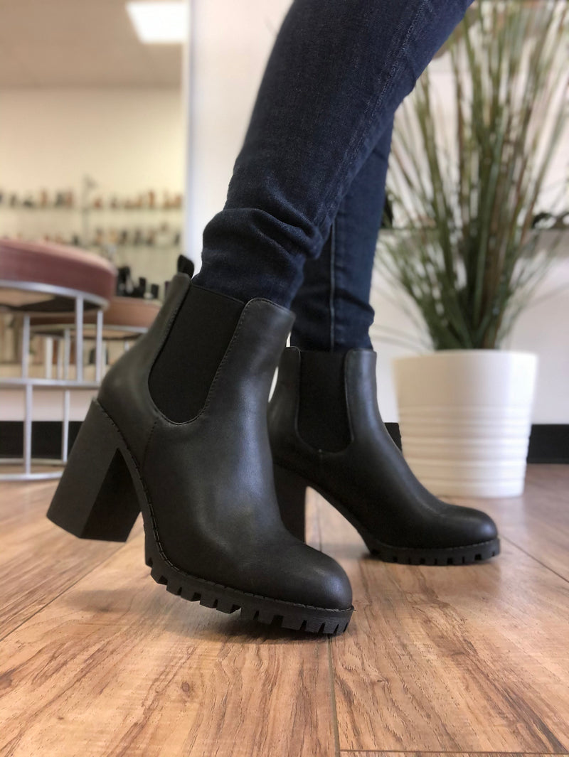 Jake booties * black