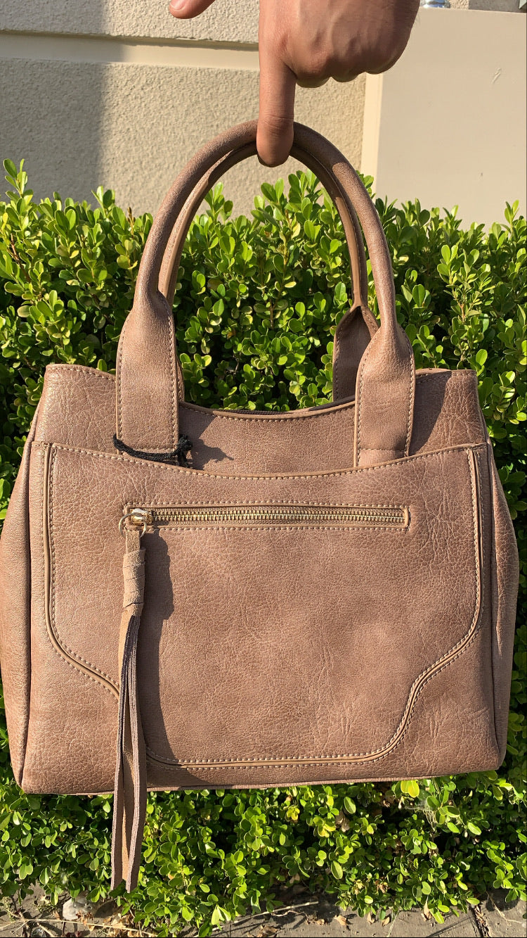 West Handbag * light brown