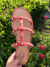 Dixie sandals *orange red