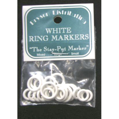 Ring Markers - White