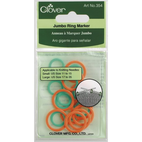 Jumbo Ring Stitch Markers