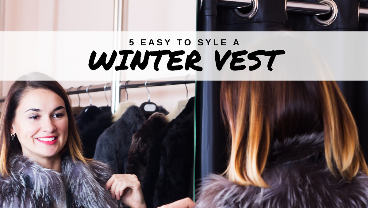 5 Easy Ways to Style a Winter Vest