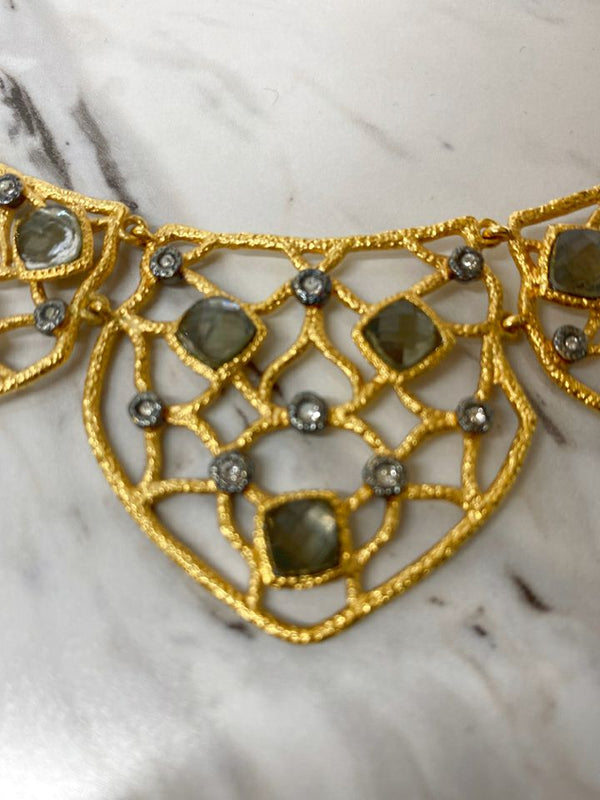 Alexis Bittar Gold Necklace fashion