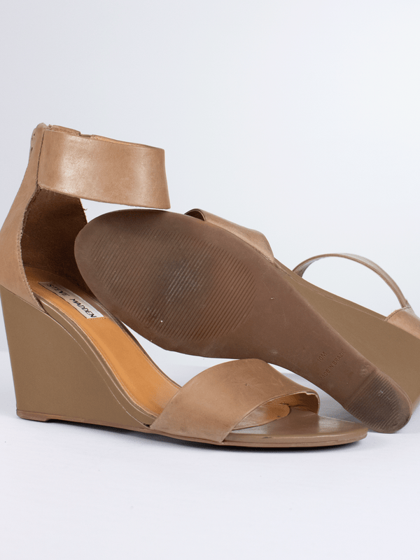 Steve Madden Size 10 Tan Shoes Wedges