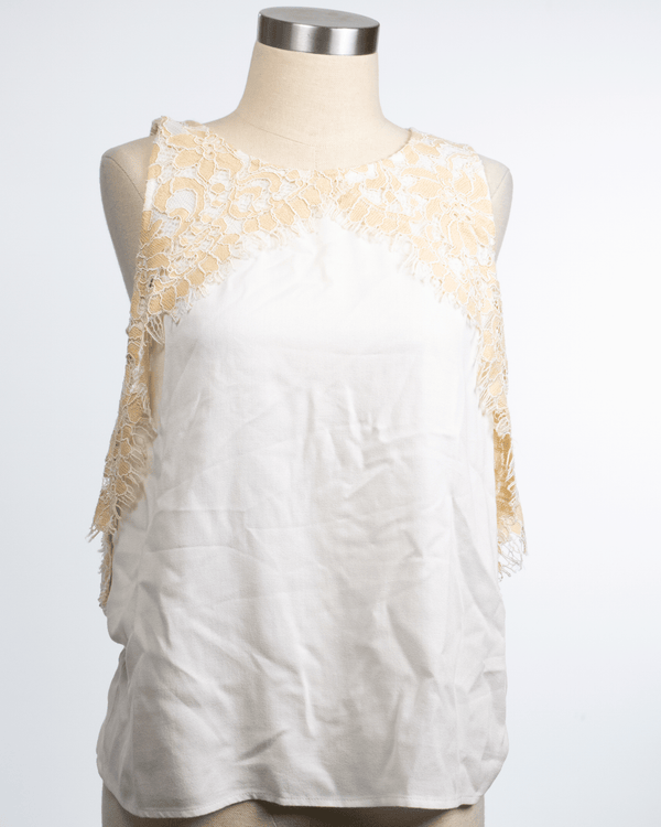 Ella Moss Size XS Cream Tank Top