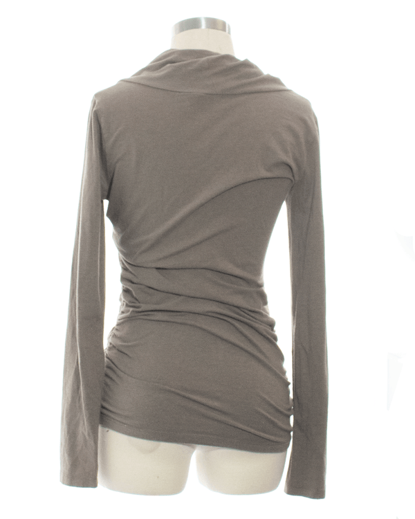 Cabi Size S Brown Long Sleeve Top