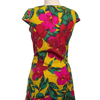 For Cynthia Size S/P Yellow Print Dress