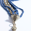 Blue Strands Fashion Necklace