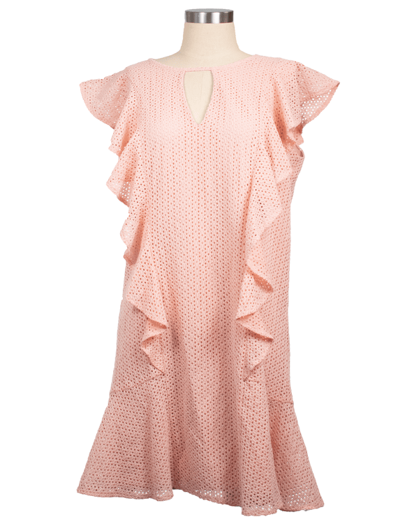 Roz & Ali Size XL Pink Dress