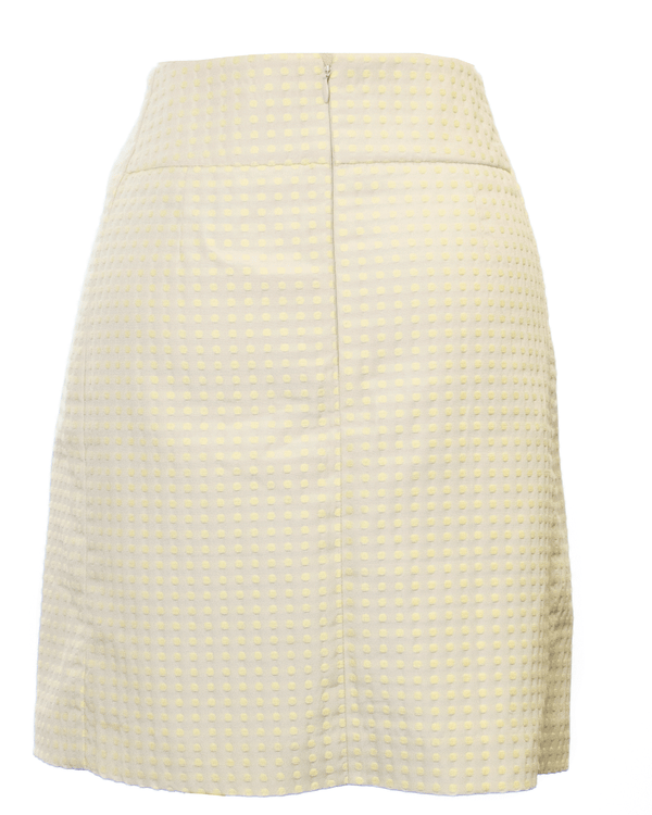 Loft Size 8 Yellow Midi Skirt