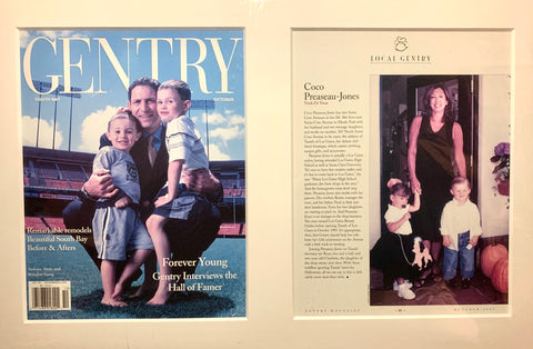 As featured in Gentry magazine.
