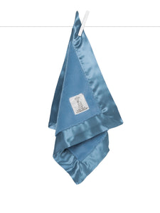 Little Giraffe Cornflower Blue Luxe Blanky