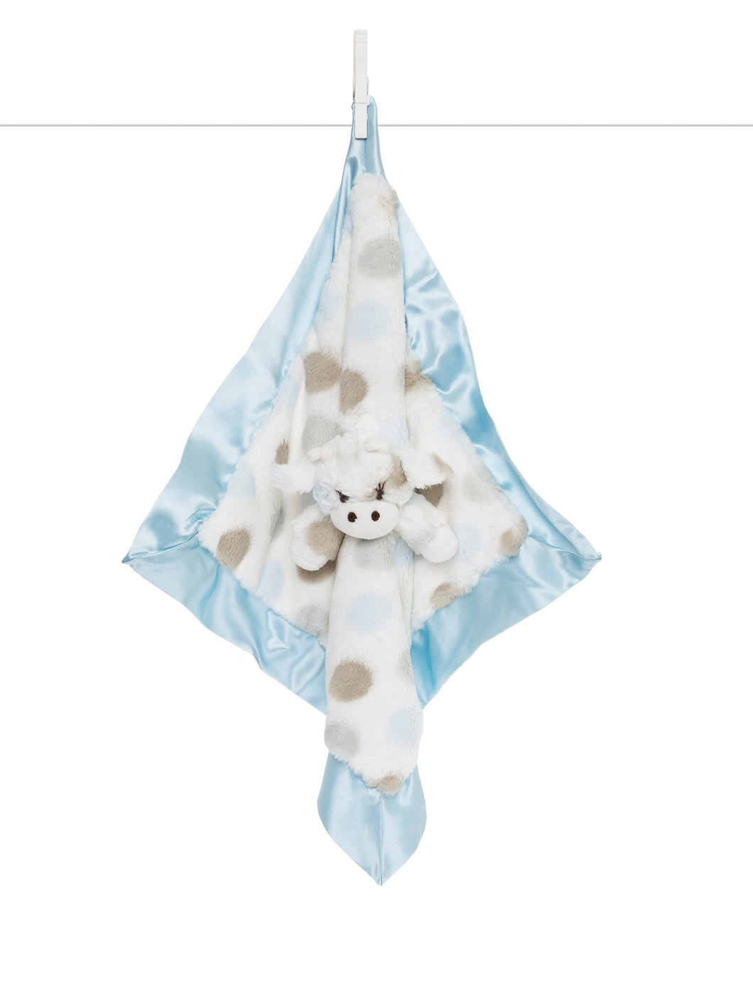 Little Giraffe Blue Little G Blanky