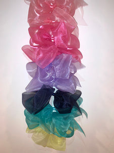 Bows~ Giant Organdy