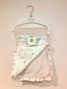 Thank Heaven for Little Girls Blanket by MudPie