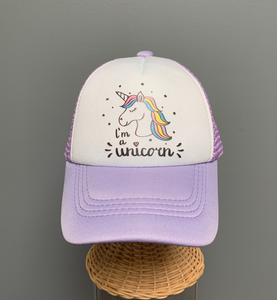 I'm a Unicorn Hat by Tiny Trucker Co