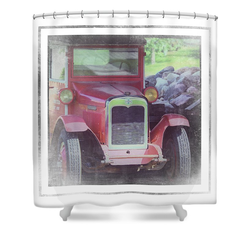 1920 International Farm Truck - Shower Curtain