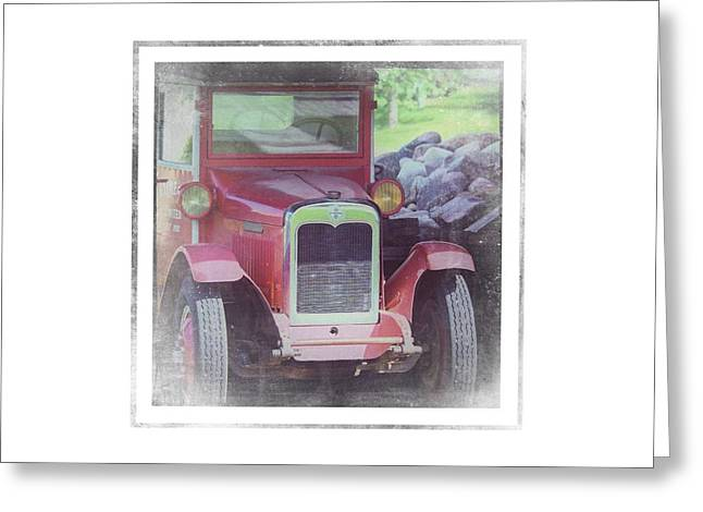 1920 International Farm Truck - Greeting Card