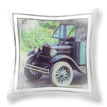 Load image into Gallery viewer, 1926 Chevrolet One Tone Truck - Throw Pillow