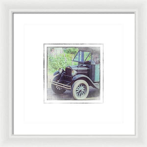 1926 Chevrolet One Tone Truck - Framed Print