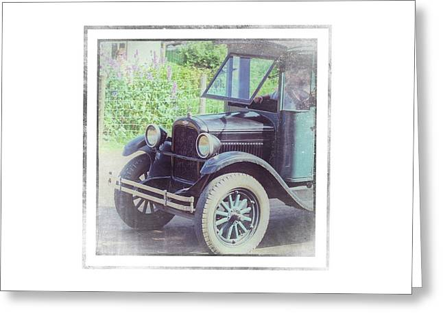 1926 Chevrolet One Tone Truck - Greeting Card