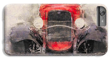 Load image into Gallery viewer, 1932 Ford Roadster Red And Black - Phone Case