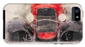 1932 Ford Roadster Red And Black - Phone Case