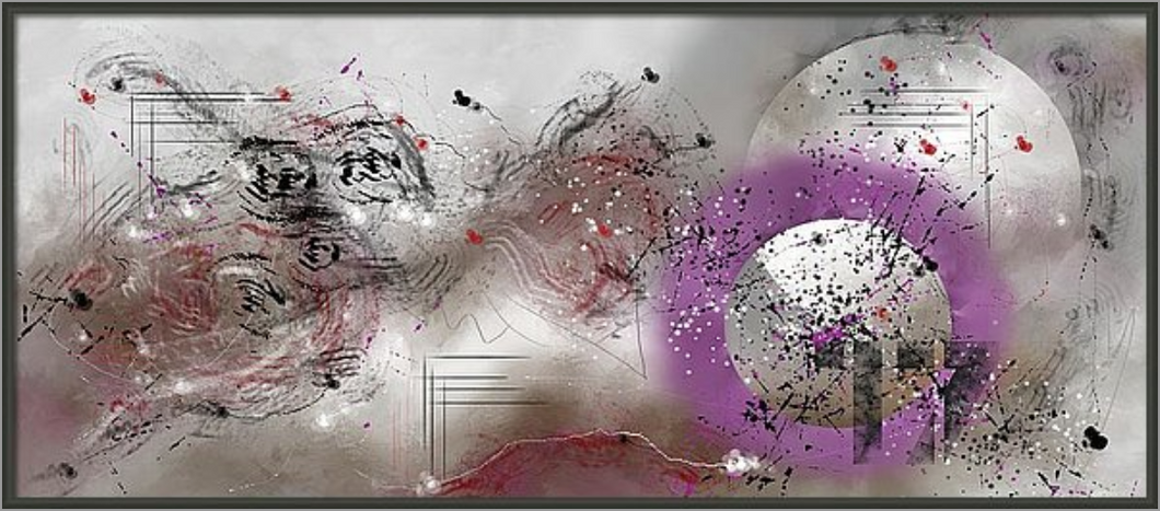 MIXED MEDIA ABSTRACT PAINTING (COSMIC SYMPHONY) 23