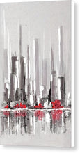 Load image into Gallery viewer, Abstract Cityscape Painting - 1 - Canvas Print
